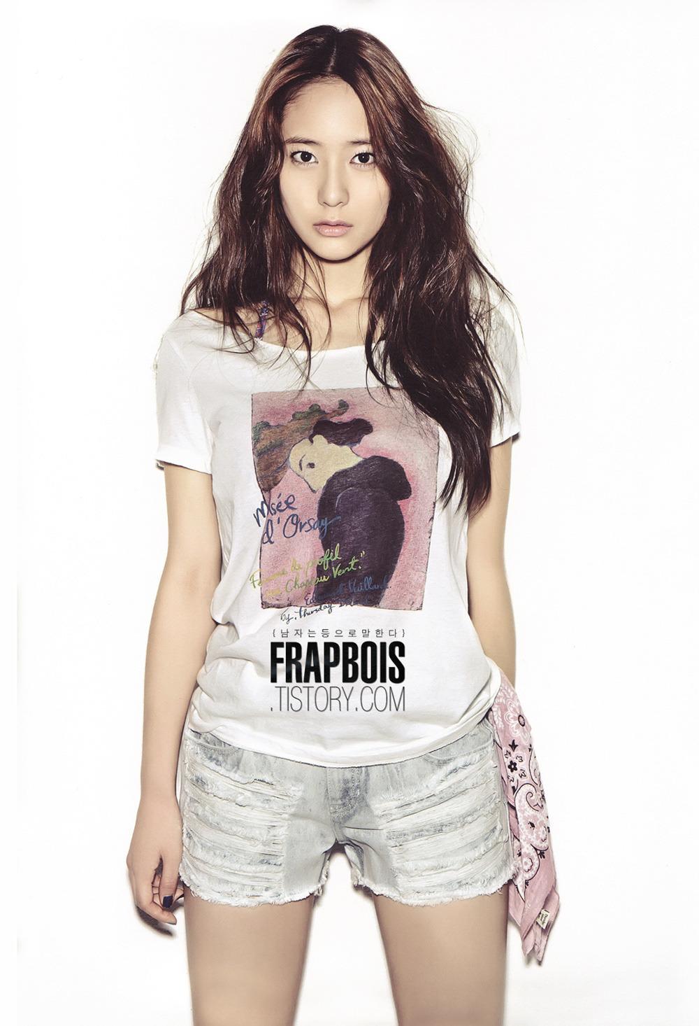 Rina's entertainment notebook.: f(x) Amber/Krystal 《Oh Boy!》 F(x) Krystal