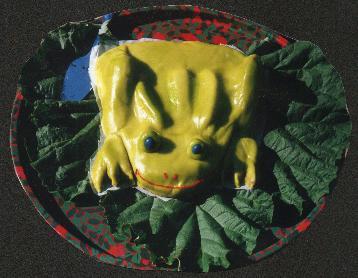 외계 개구리 케이크