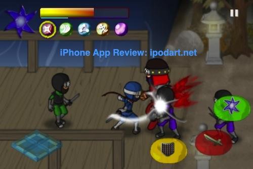 아이폰 액션 아케이드 닌자워즈 Ninja Wars