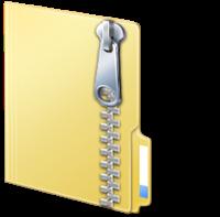 별도의 압축 프로그램 설치 없이, ZIP 파일로 압축할 수 있습니다.