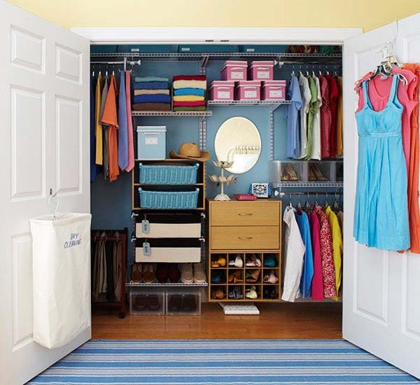 31 for Walk in closet ideas for teenage girls