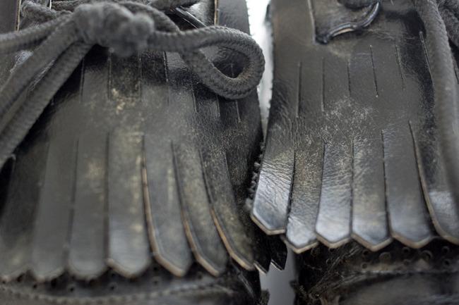 가죽클리너로 소중한 가죽제품들을 깨끗하게! - 천연가죽 케어잼 크리너 사용설명서