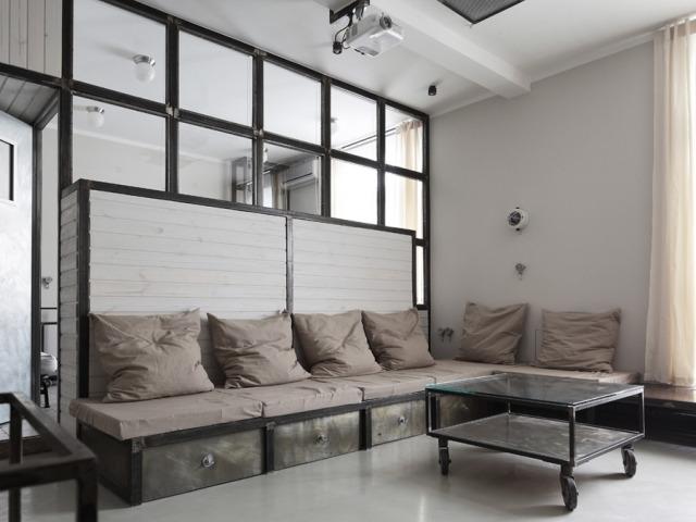 - Appartement style industriel ...