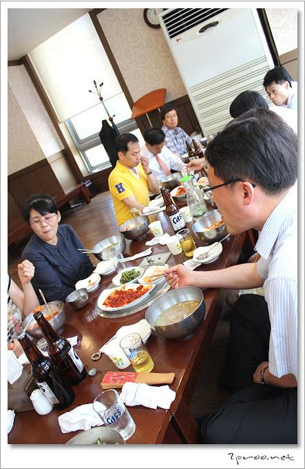 평양면옥에서 점심식사, 블로그 기자단 위촉식