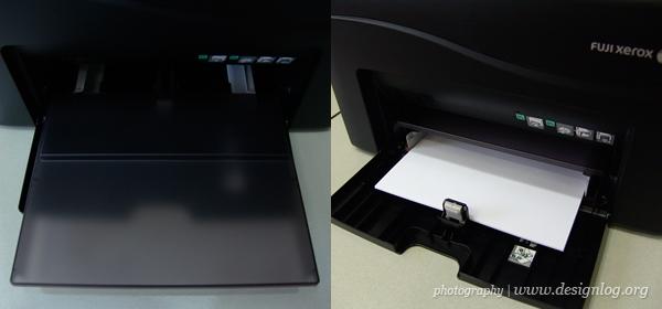 후지제록스 DocuPrint CP150b, 용지 공급함 덮개와 급지 트레이