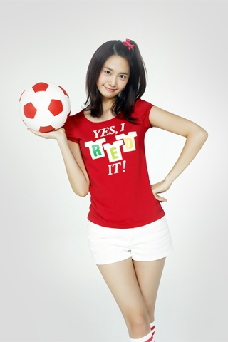 [C1305] SPAO 월드컵 티셔츠 5 (윤아)