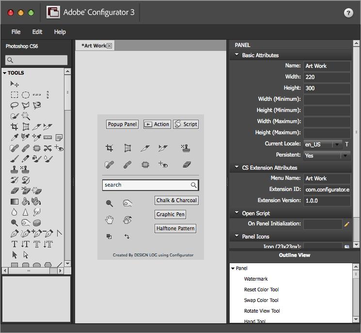 어도비 CS6 Configurator 3