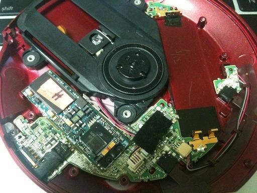 Sony D-NE20 분해