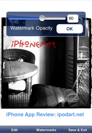 아이폰 아이패드 사진 워터마크 도장 iWatermark