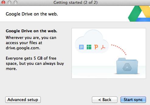 Google Drive Install 2