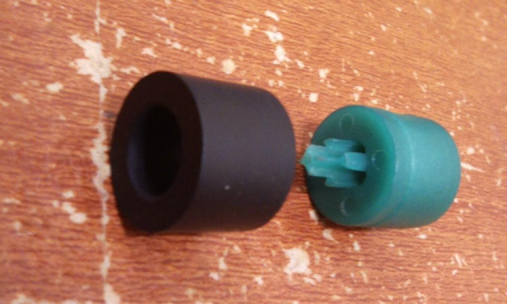 슈레더 밸브사용시 패킹 설정