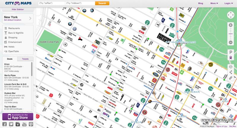 citymap, 소셜지도