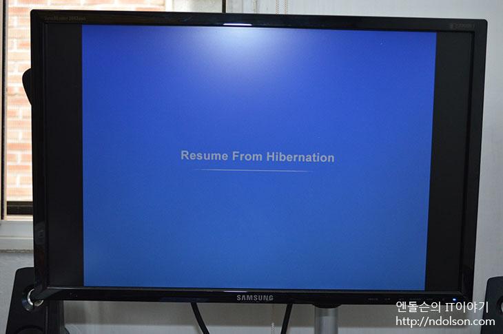 resume from hibernation windows 8