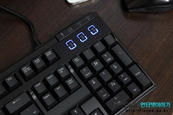 제닉스 Tesoro M7 LED SE LTE 밝기 조절