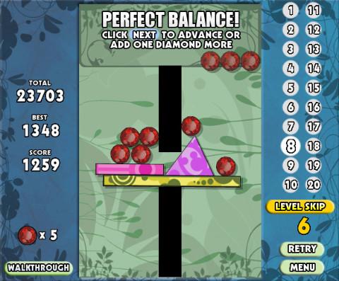 Perfect balance 2 chocogames