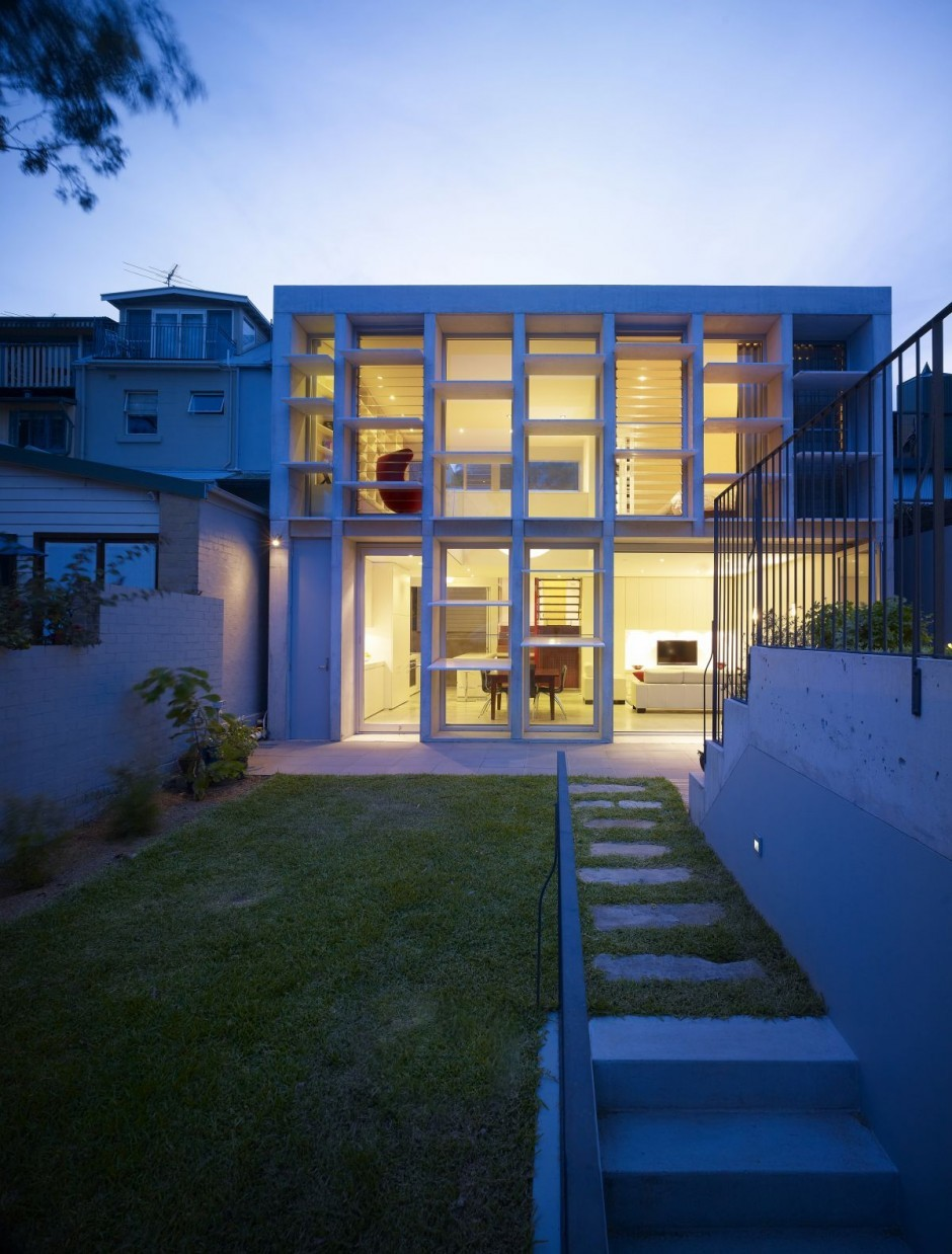 Carter williamson architects balmain house - Maison camperdown carter williamson architects ...