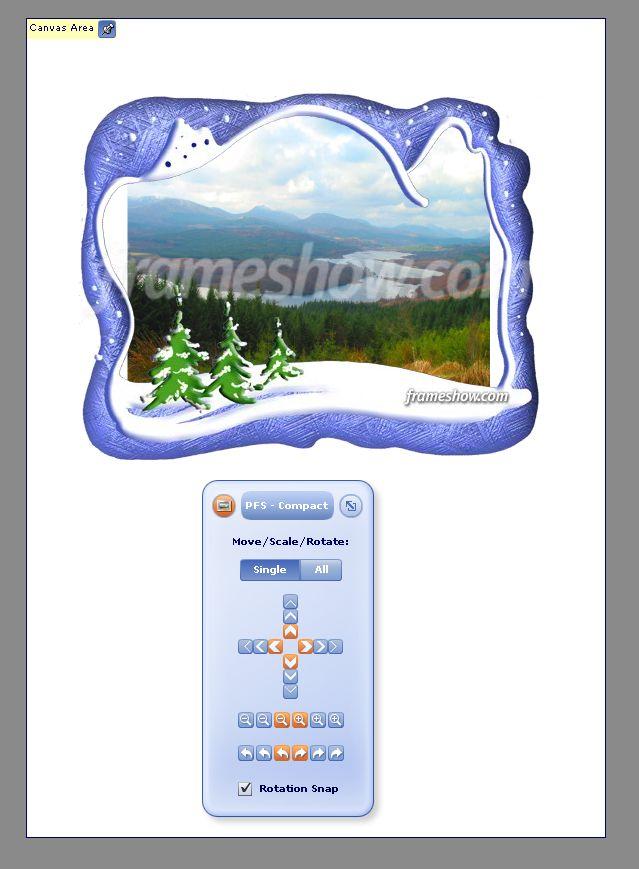 설치한 뒤 첫 실행 화면 2 - 컴팩트 화면