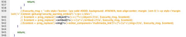 제로보드 XE Embed & Object