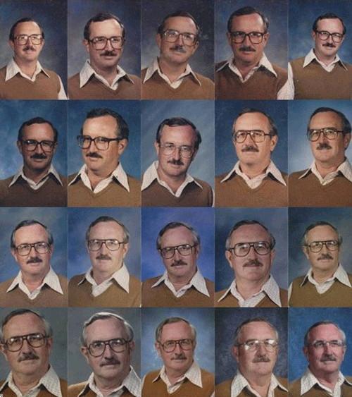 40년간 같은 옷 교사 2