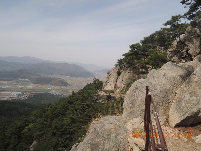 경주 남산 등산코스 등산지도