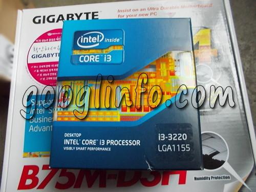 메인보드에 CPU 설치하는 법 1
