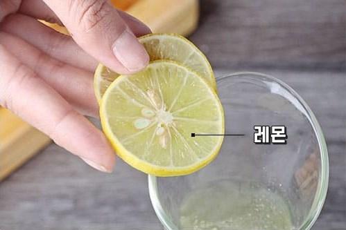 레몬물효과 비타민워터