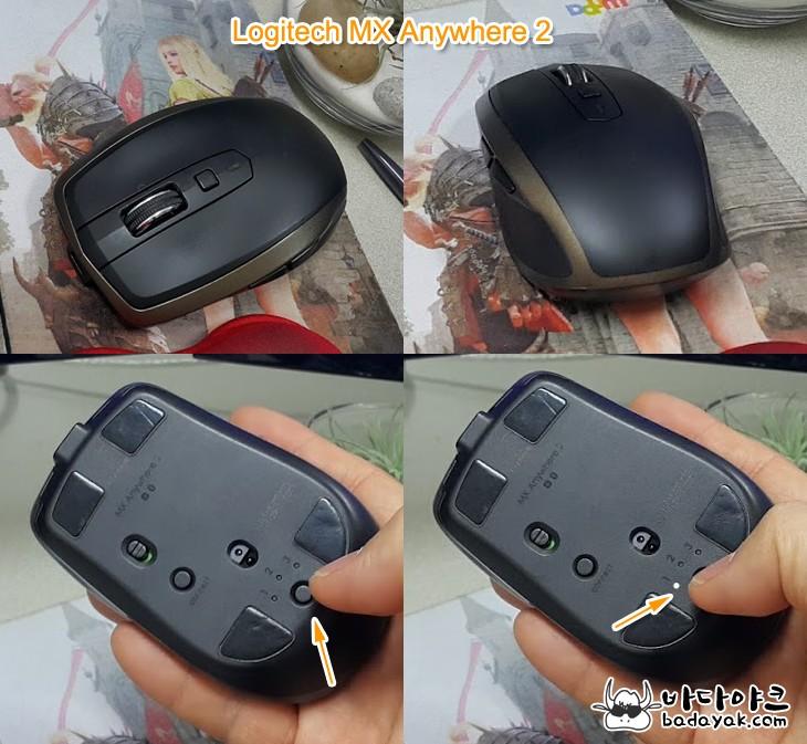 USB 무선·블루투스 멀티 페어링 마우스 로지텍 M720