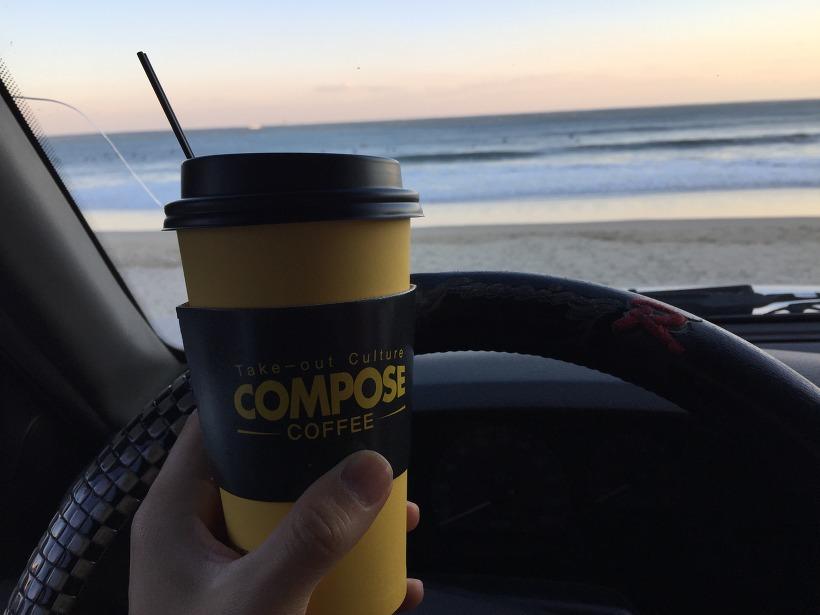 송정 컴포즈 커피 COMPOSE COFFEE 아메리카노