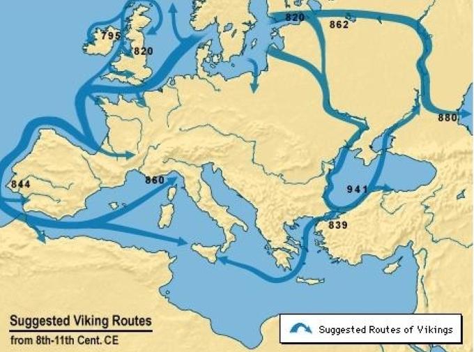 바이킹 투어, 북유럽 바이킹 여행