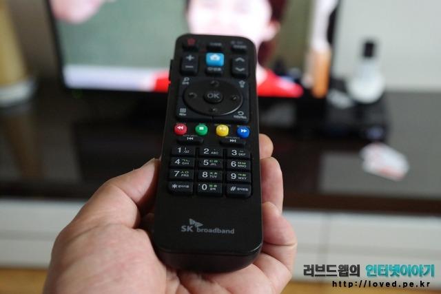 B TV 리모컨