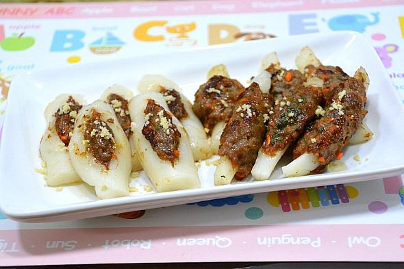 쫄깃쫄깃 가래떡 갈비(떡갈비)