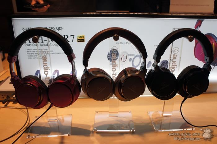 오디오테크니카, 헤드폰, 이어폰, 신제품, 소개, 하이레졸루션, 모니터링, ATH-MSR7