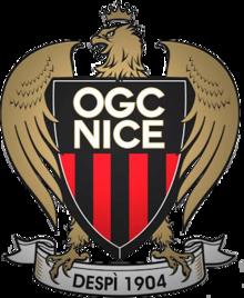 OGC Nice emblem(crest)