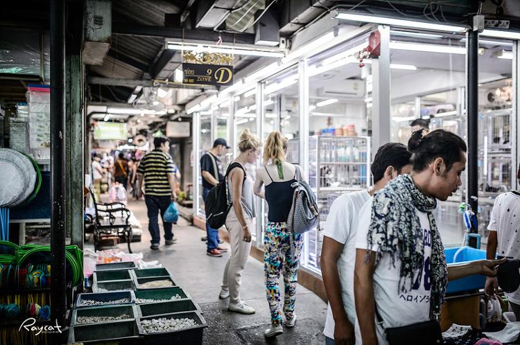방콕 재래시장
