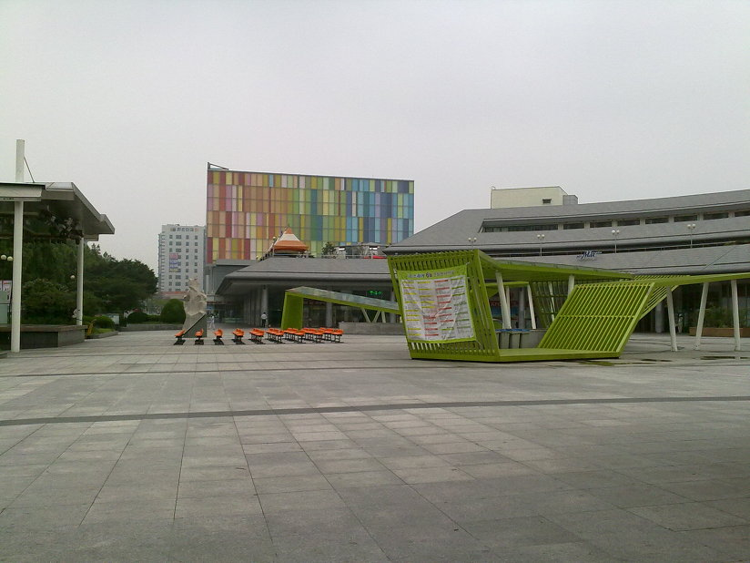 광주 버스터미널 유스퀘어 전경 Gwangju bus terminal - U Square