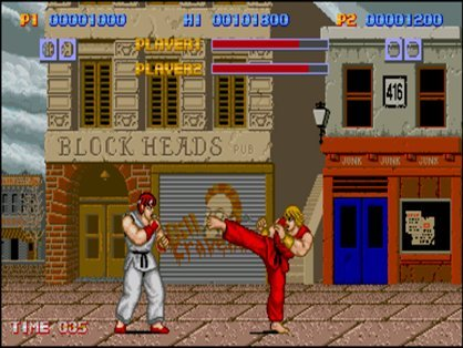 Street Figher - Ryu vs Ken