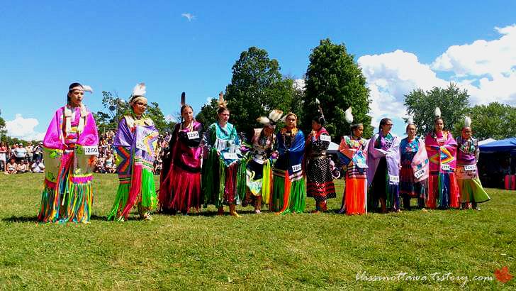 캐나다 오타와 원주민 여름 대축제입니다