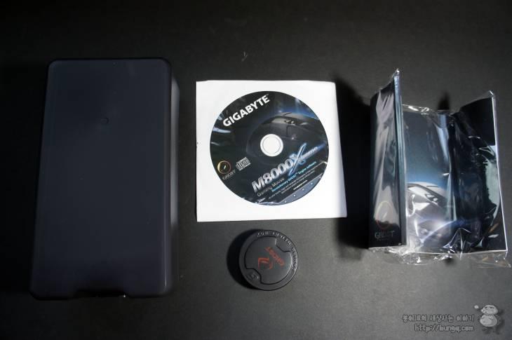 게이밍마우스, 기가바이트, m8000x, gm8000x, 구성품