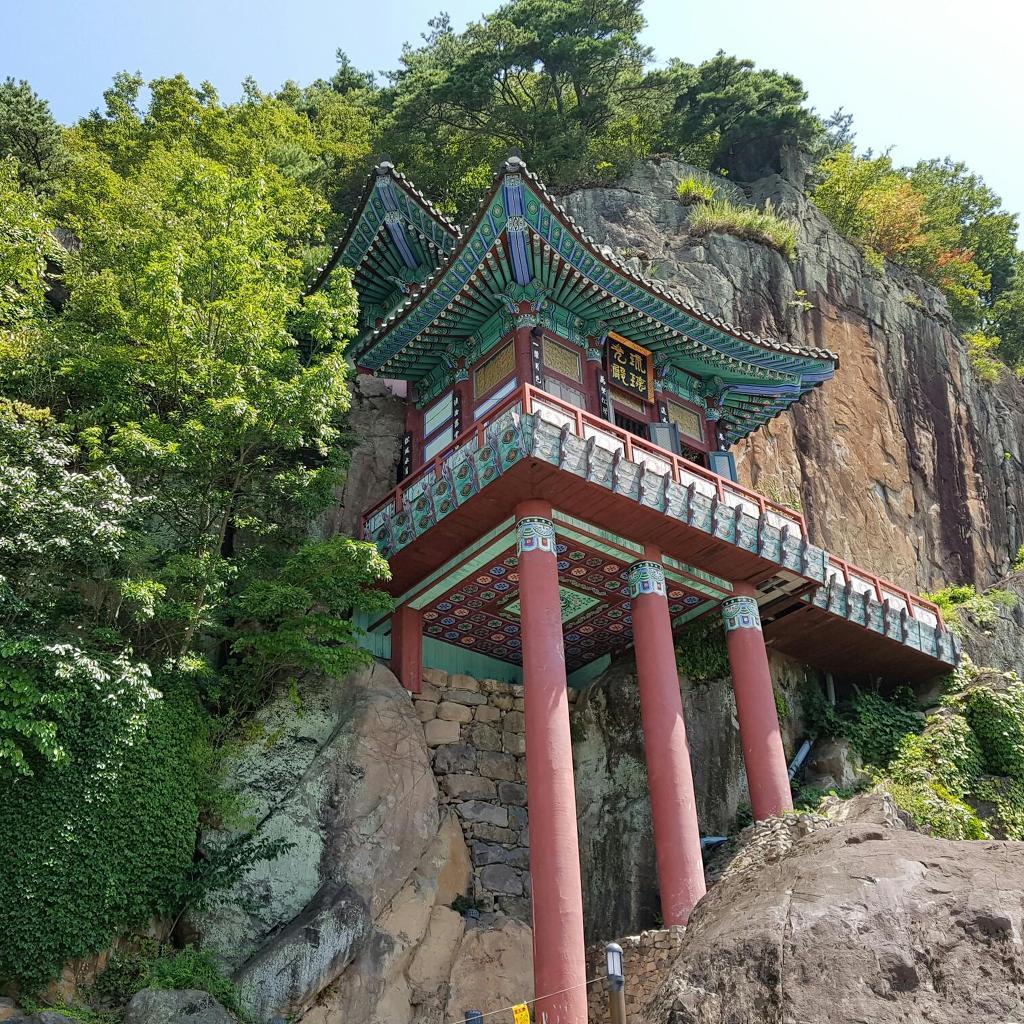 [전남 구례 여행] 오산 사성암(四聖庵)..기암절벽에 위태로이 선 암자