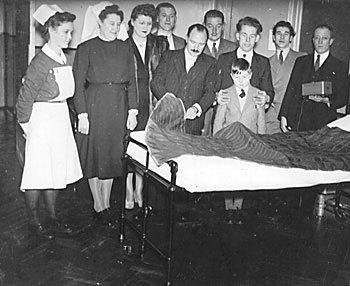 electric blanket history hospital