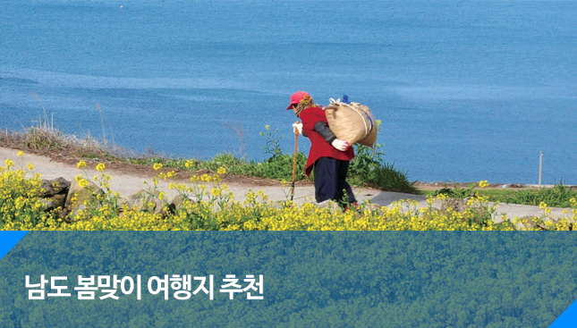 봄맞이 남도 여행지 추천