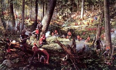 16. 인디언과 프랑스군 전투