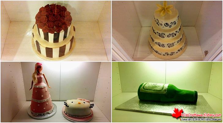 캐나다 토론토에 있는 한인 제과점 슈가 케이크