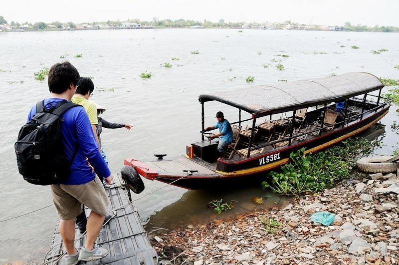 베트남 시골마을 빈롱, 메콩강 보트투어 체험기