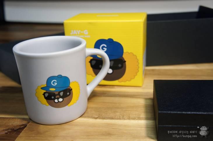 2015, 티스토리, 우수블로그, 우수블로거, 선물, 카카오프렌즈, 머그컵