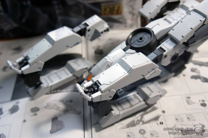 HG-IBO, 007, 발바토스, 장거리수송선, 쿠탄3형, 조립