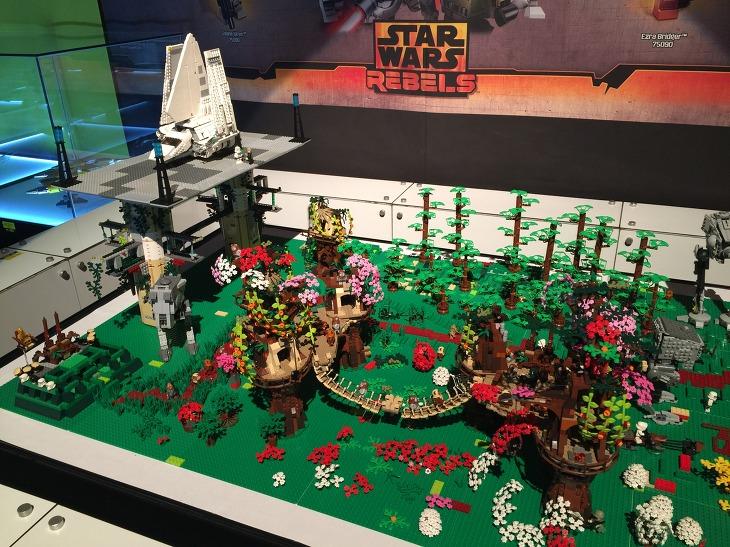 신세계 스타워즈 레고 대전 후기 부산 신세계 센텀시티 LEGO STARWARS 장난감