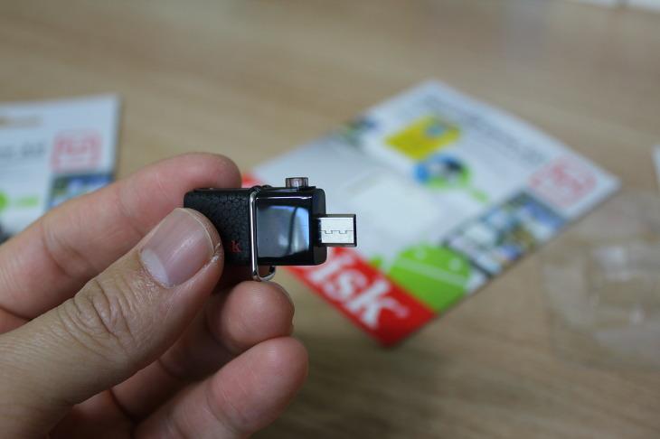 샌디스크 USB OTG 메모리 SanDisk Ultra Dual USB Drive 3.0 64GB 사용후기 안드로이드 스마트폰 호환