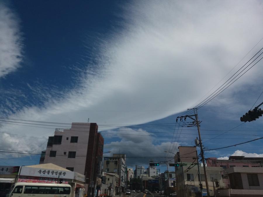 제주도 흔한 하늘 풍경은 이렇다!