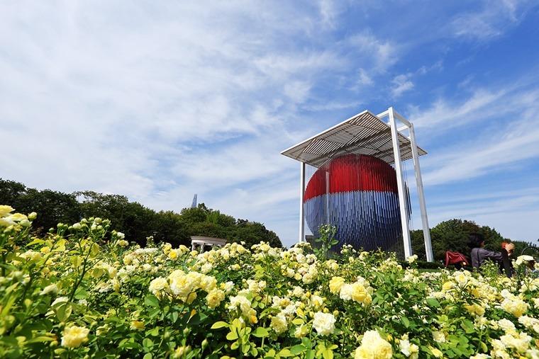 올림픽공원 장미원 장미광장 가을여행지